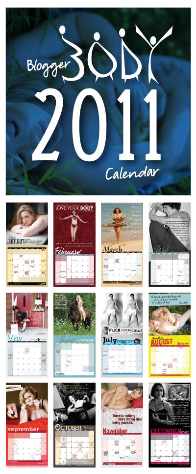 Blogger Body Calendar