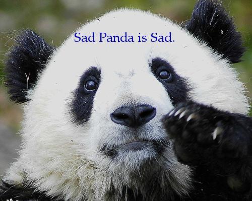 SadPandaText